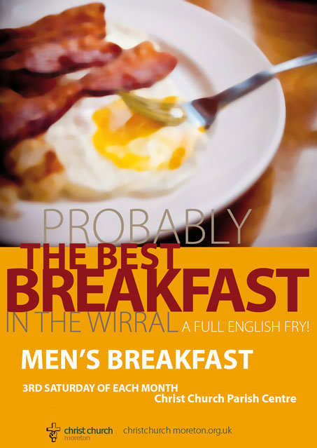 Men's Breakfast at Christ Church Moreton